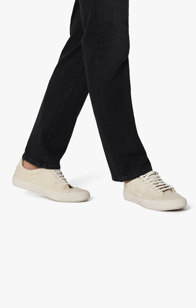 Charisma Relaxed Straight Leg Jeans In Black Siena