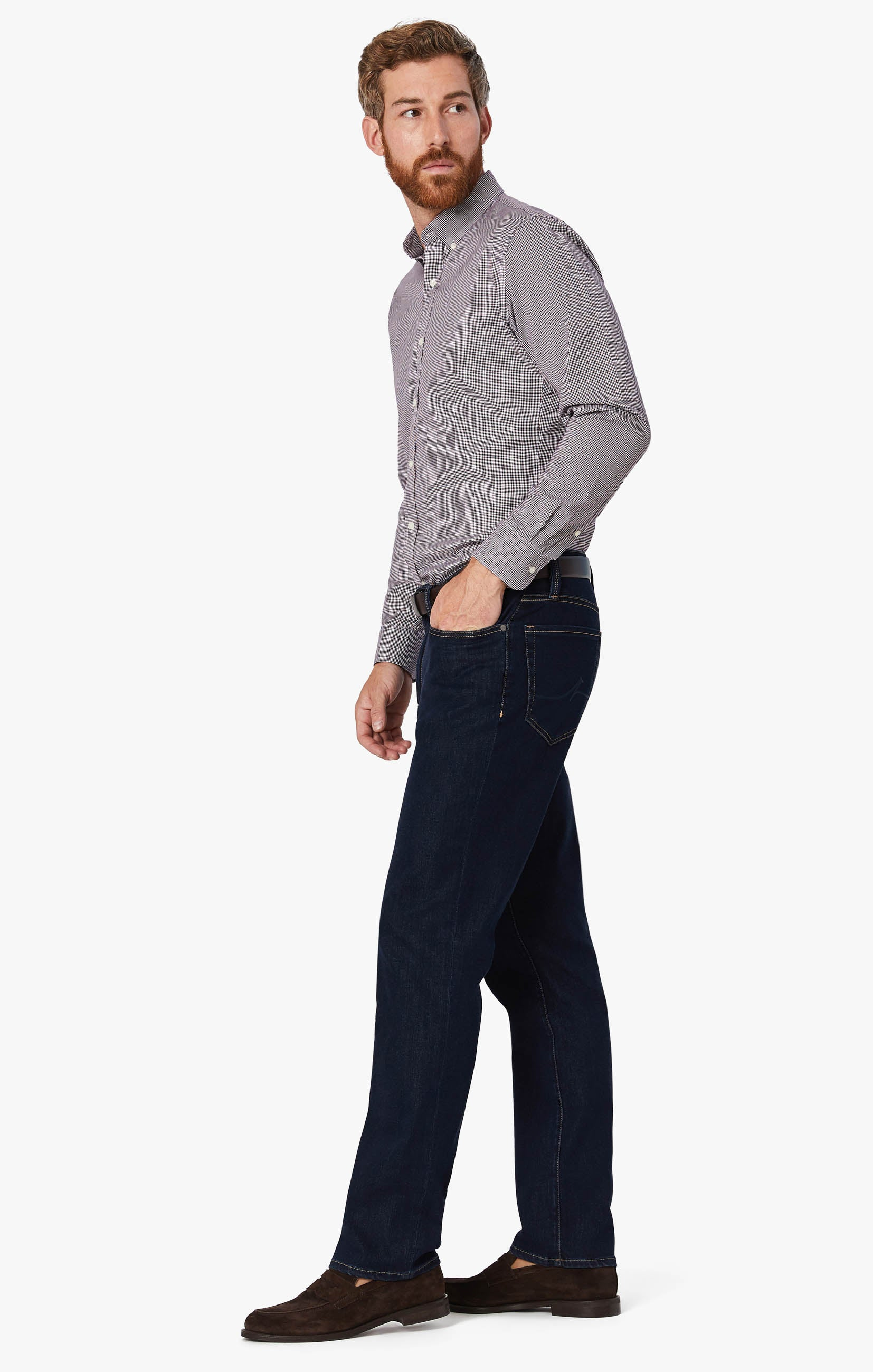 Charisma Relaxed Straight Leg Jeans In Dark Siena Image 5