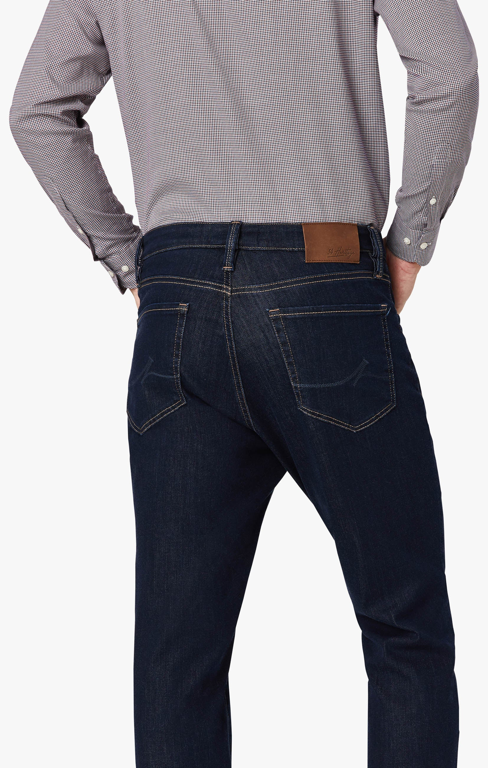 Charisma Relaxed Straight Leg Jeans In Dark Siena Image 7