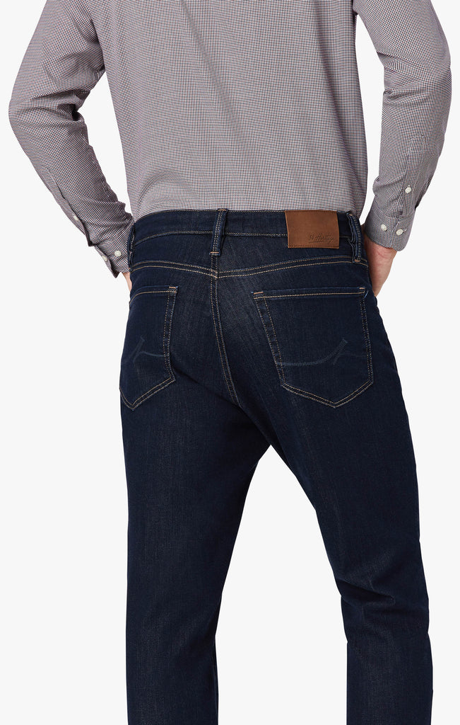 Charisma Relaxed Straight Leg Jeans In Dark Siena