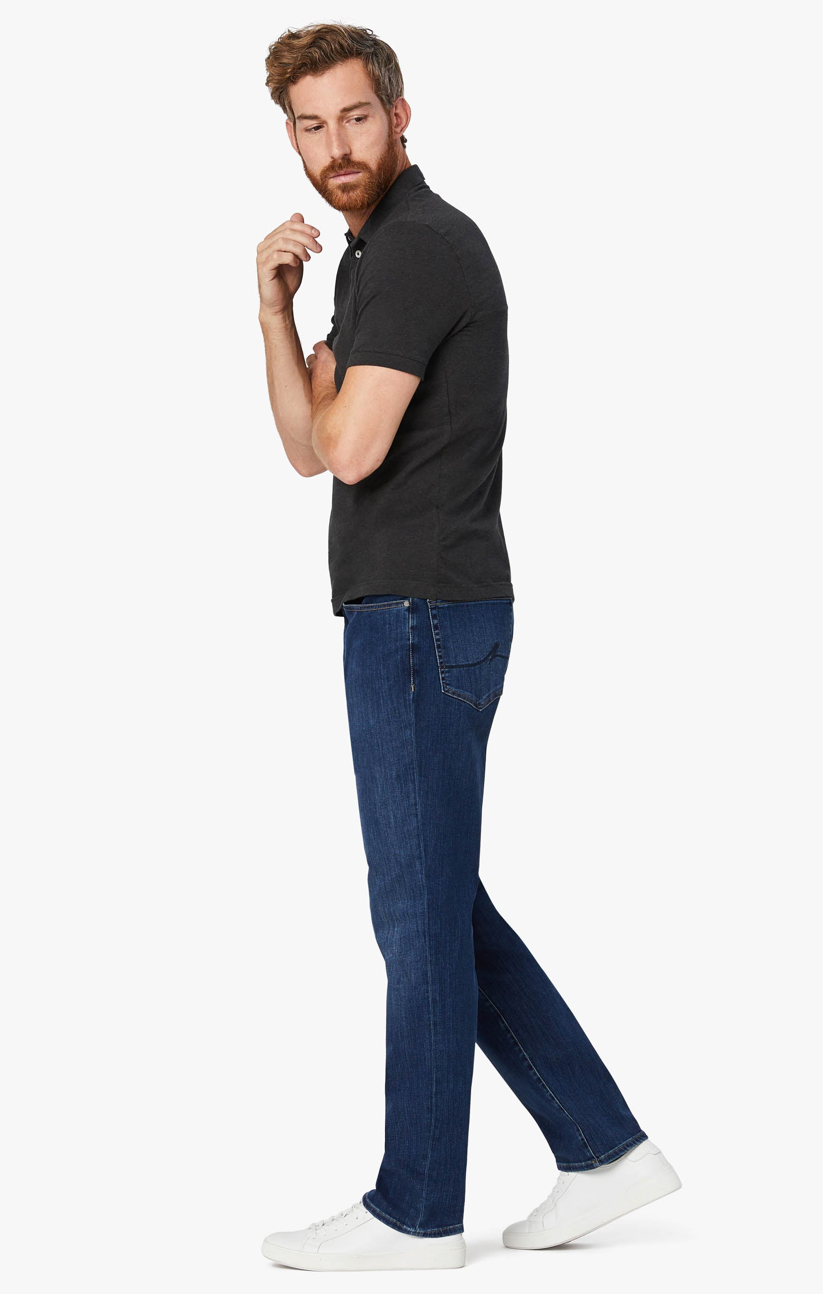 Charisma Relaxed Straight Leg Jeans In Mid Siena Image 2