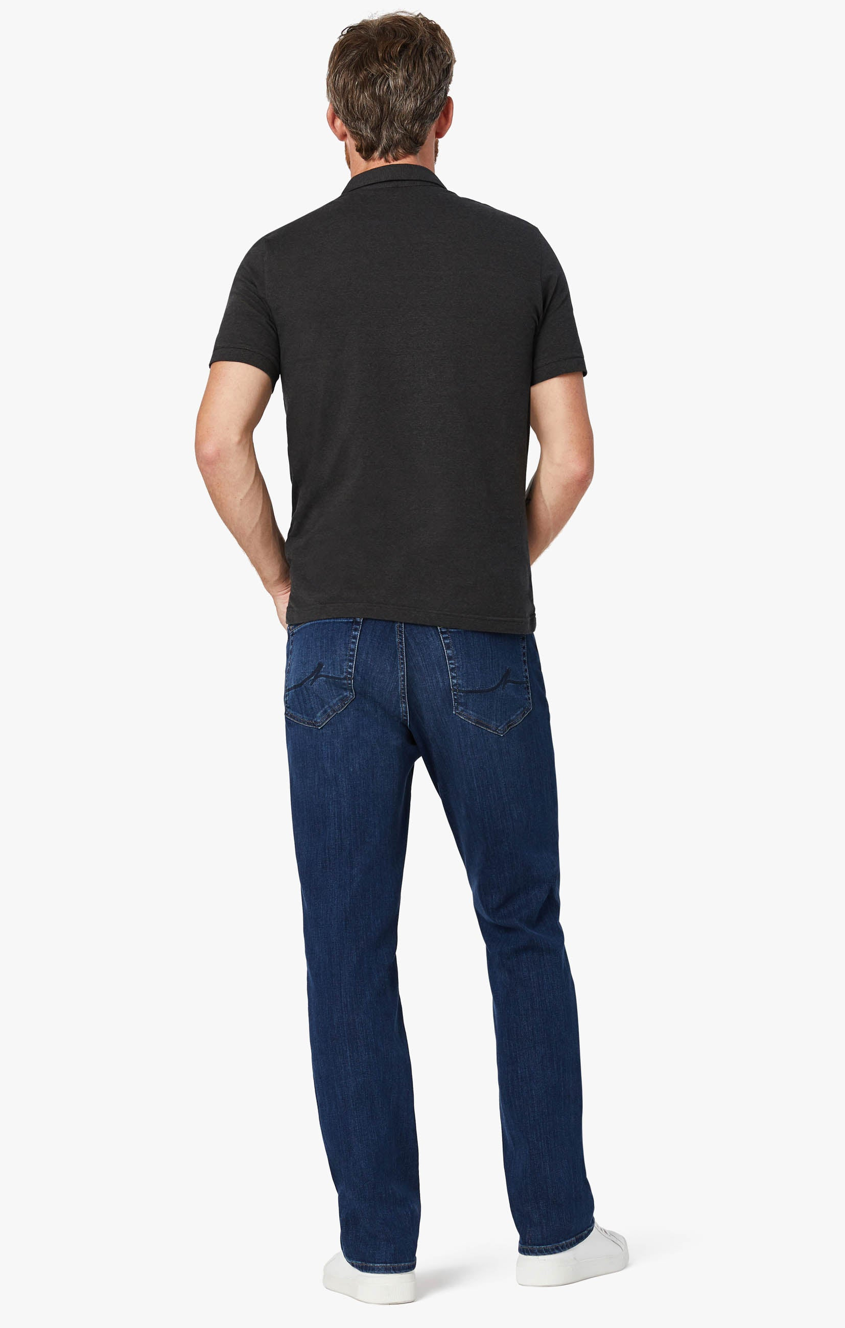 Charisma Relaxed Straight Leg Jeans In Mid Siena Image 3
