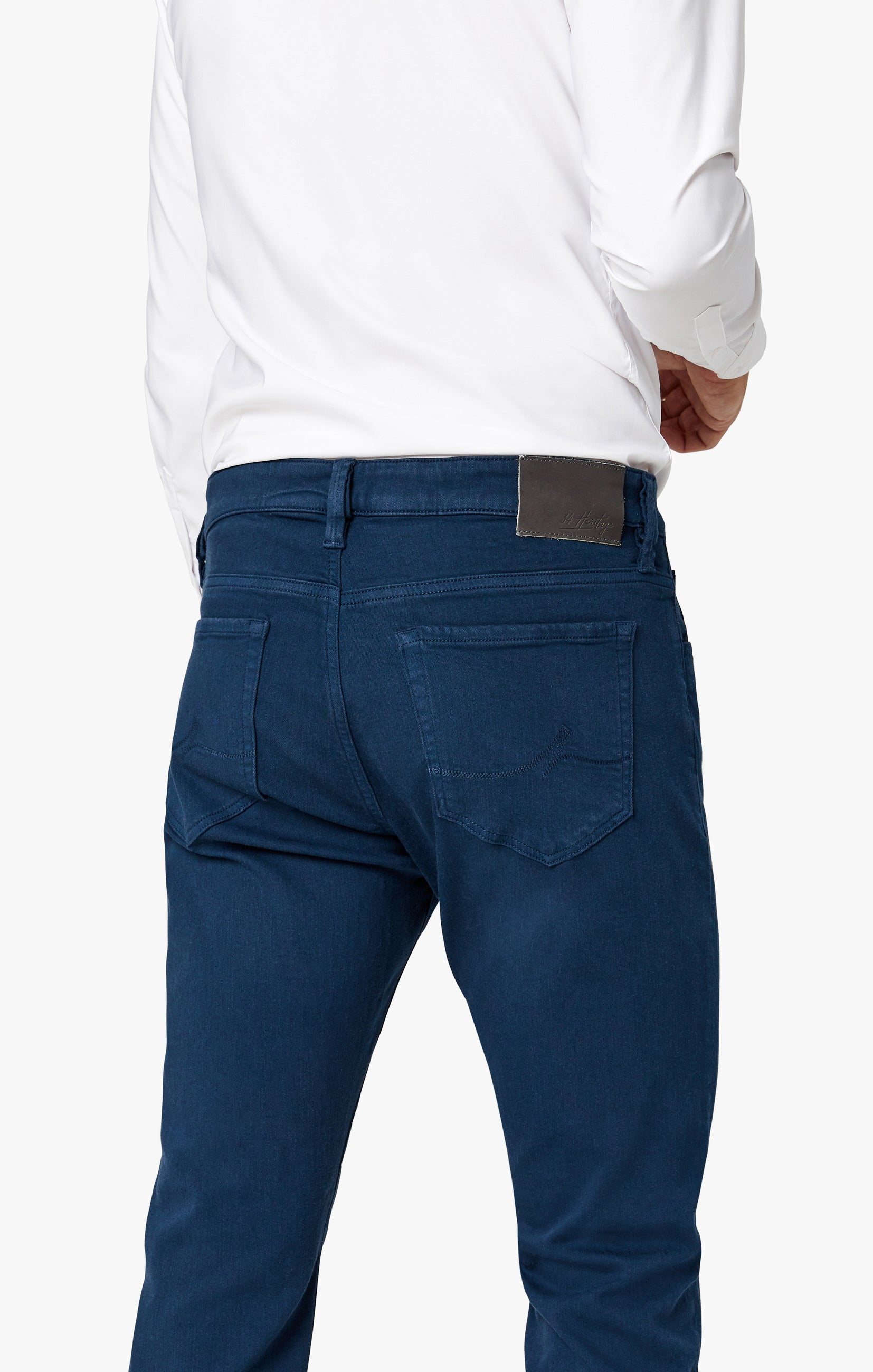 Charisma Relaxed Straight Pants in Petrol Comfort Image 2