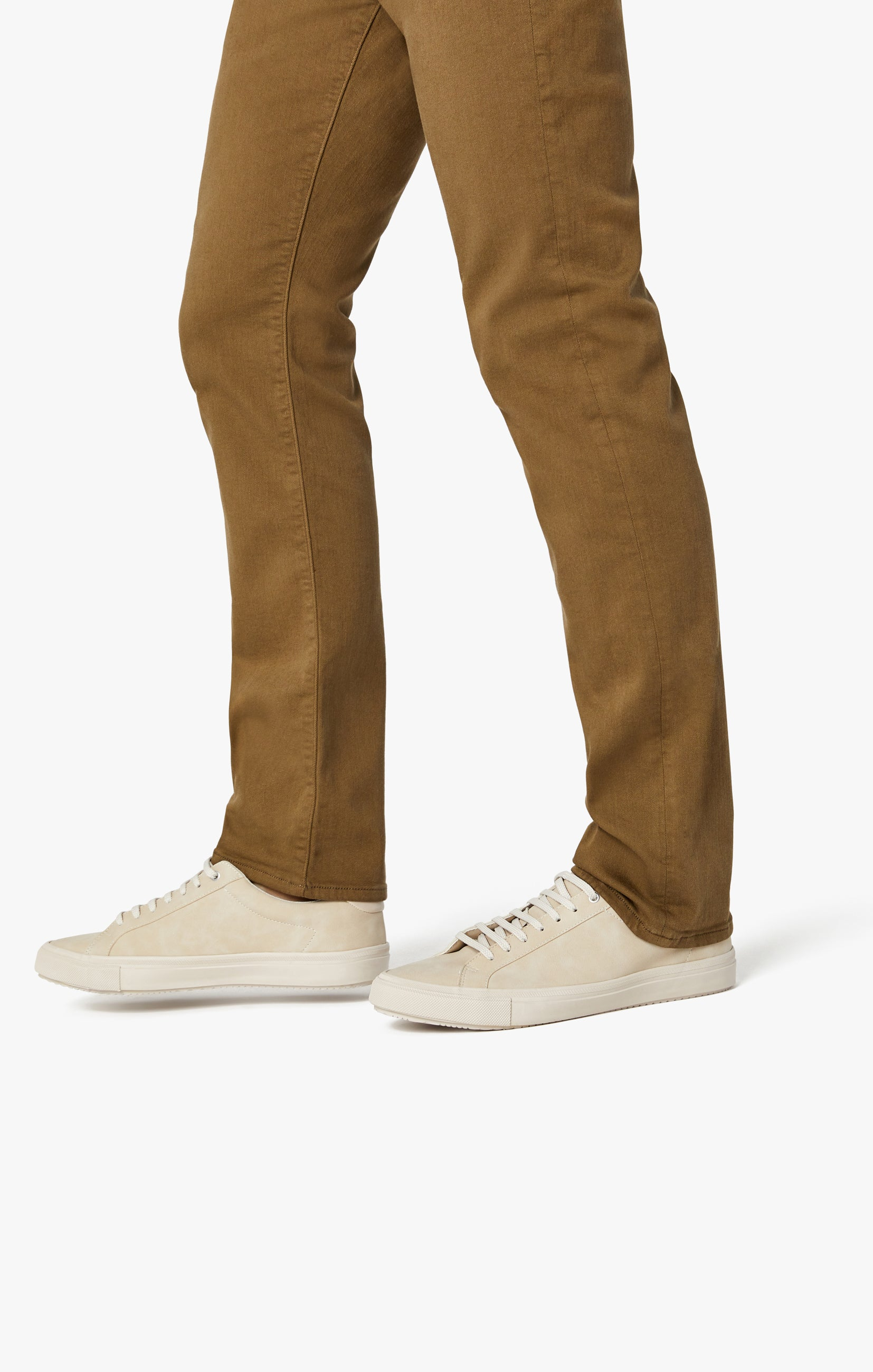 Charisma Relaxed Straight Pants in Tobacco Comfort Image 8