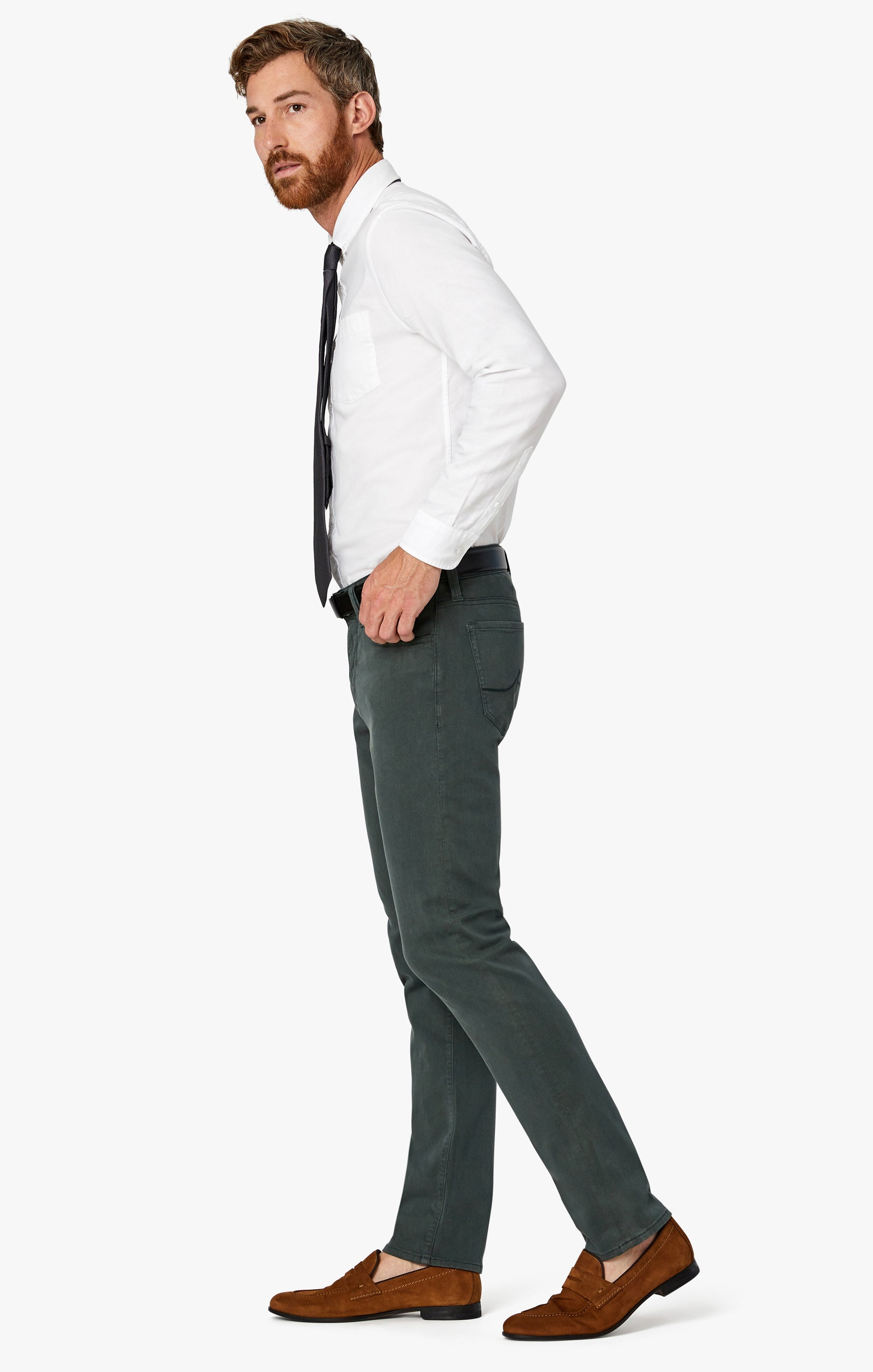 Charisma Relaxed Straight Pants in Urban Twill Image 10