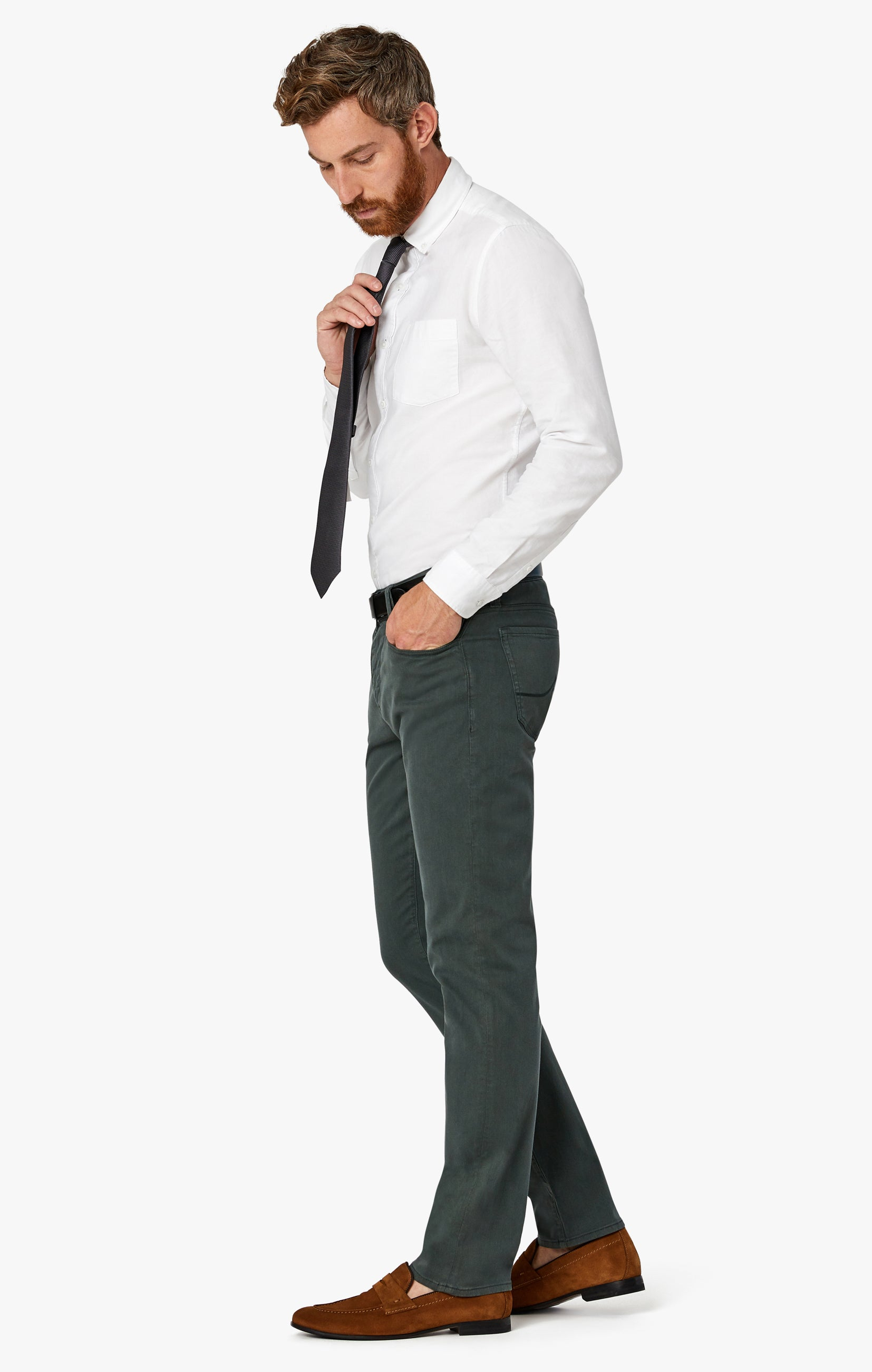 Charisma Relaxed Straight Pants in Urban Twill Image 2