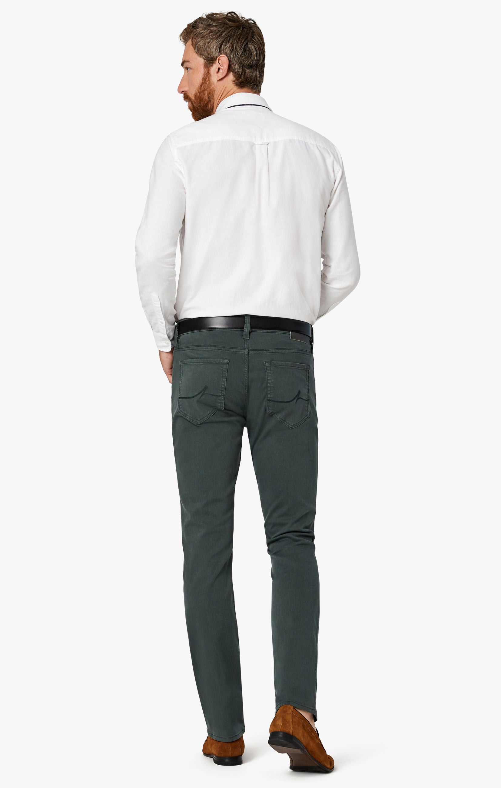 Charisma Relaxed Straight Pants in Urban Twill Image 6