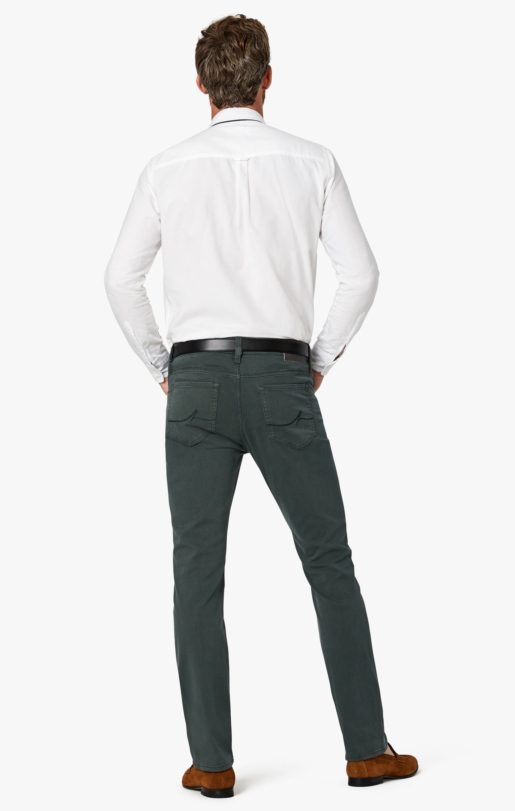 Charisma Relaxed Straight Pants in Urban Twill Image 8