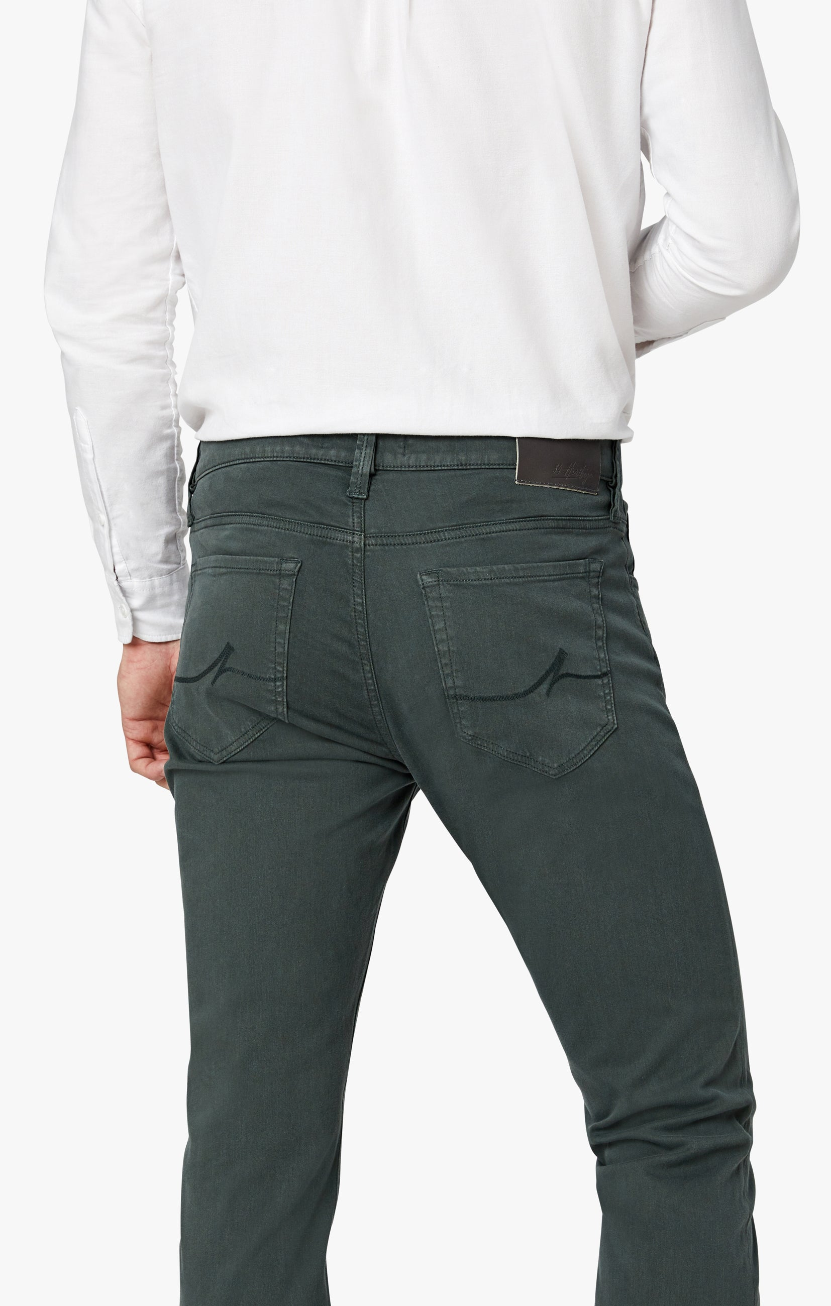 Charisma Relaxed Straight Pants in Urban Twill Image 4