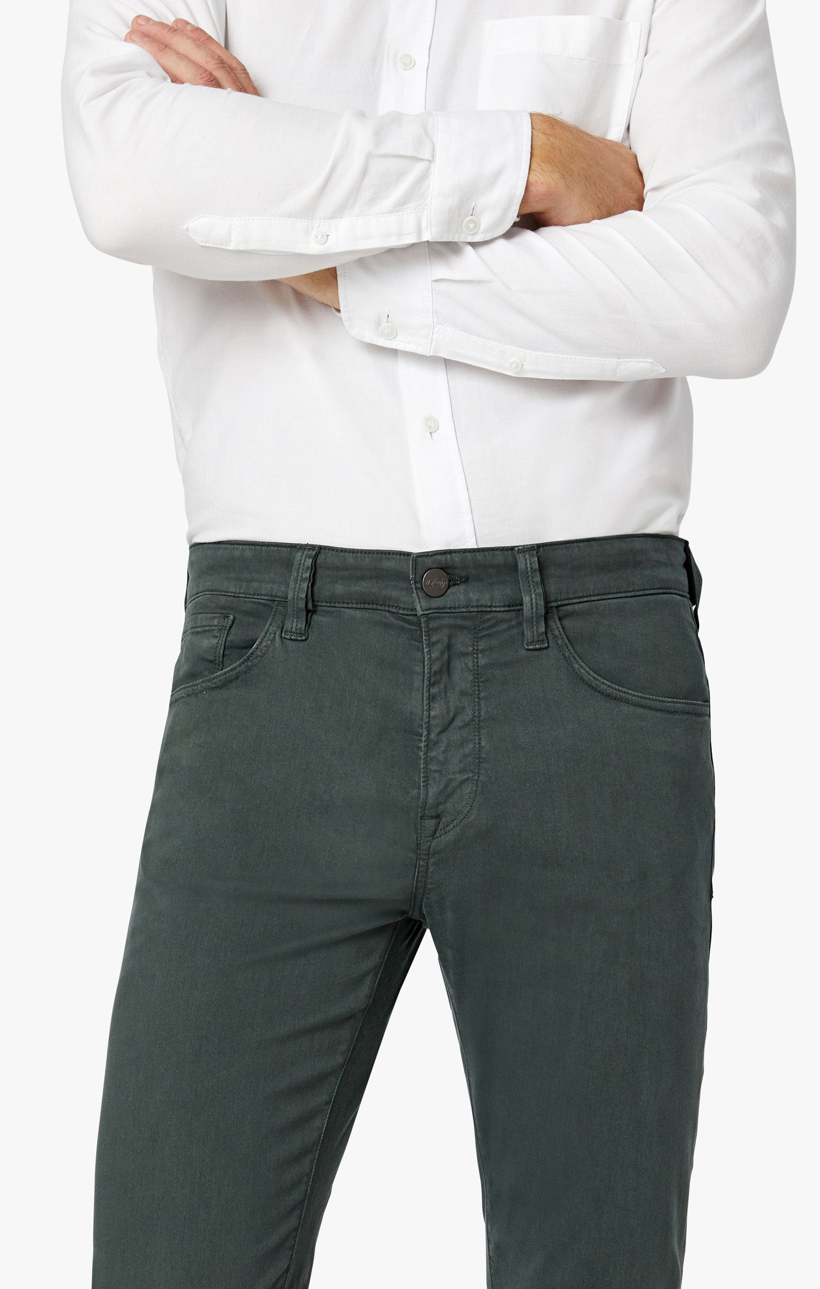 Charisma Relaxed Straight Pants in Urban Twill Image 3