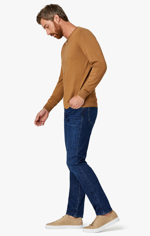 Charisma Relaxed Straight Jeans in Dark Coolmax