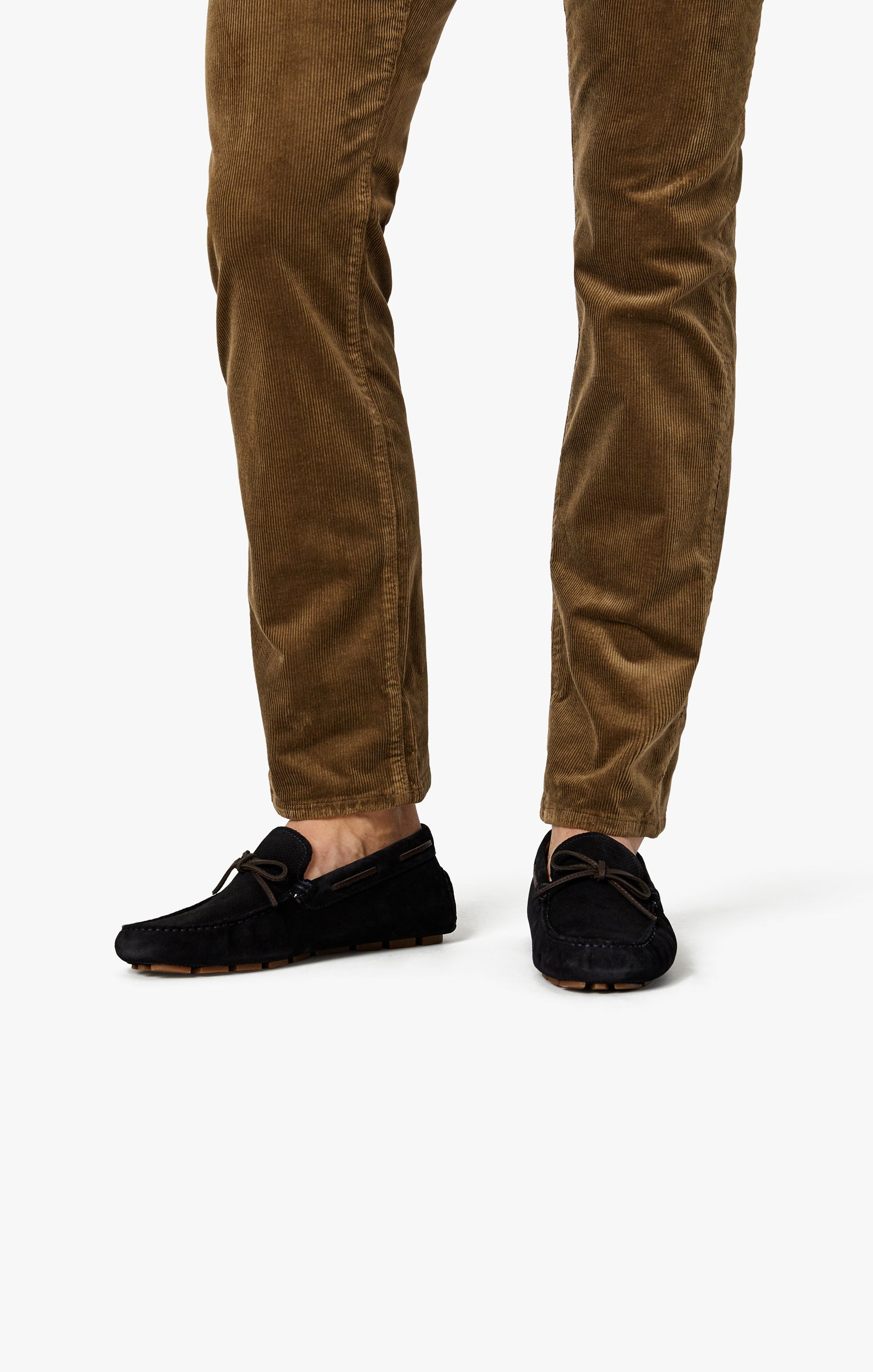 Charisma Relaxed Straight Pants in Tobacco Cord Image 8