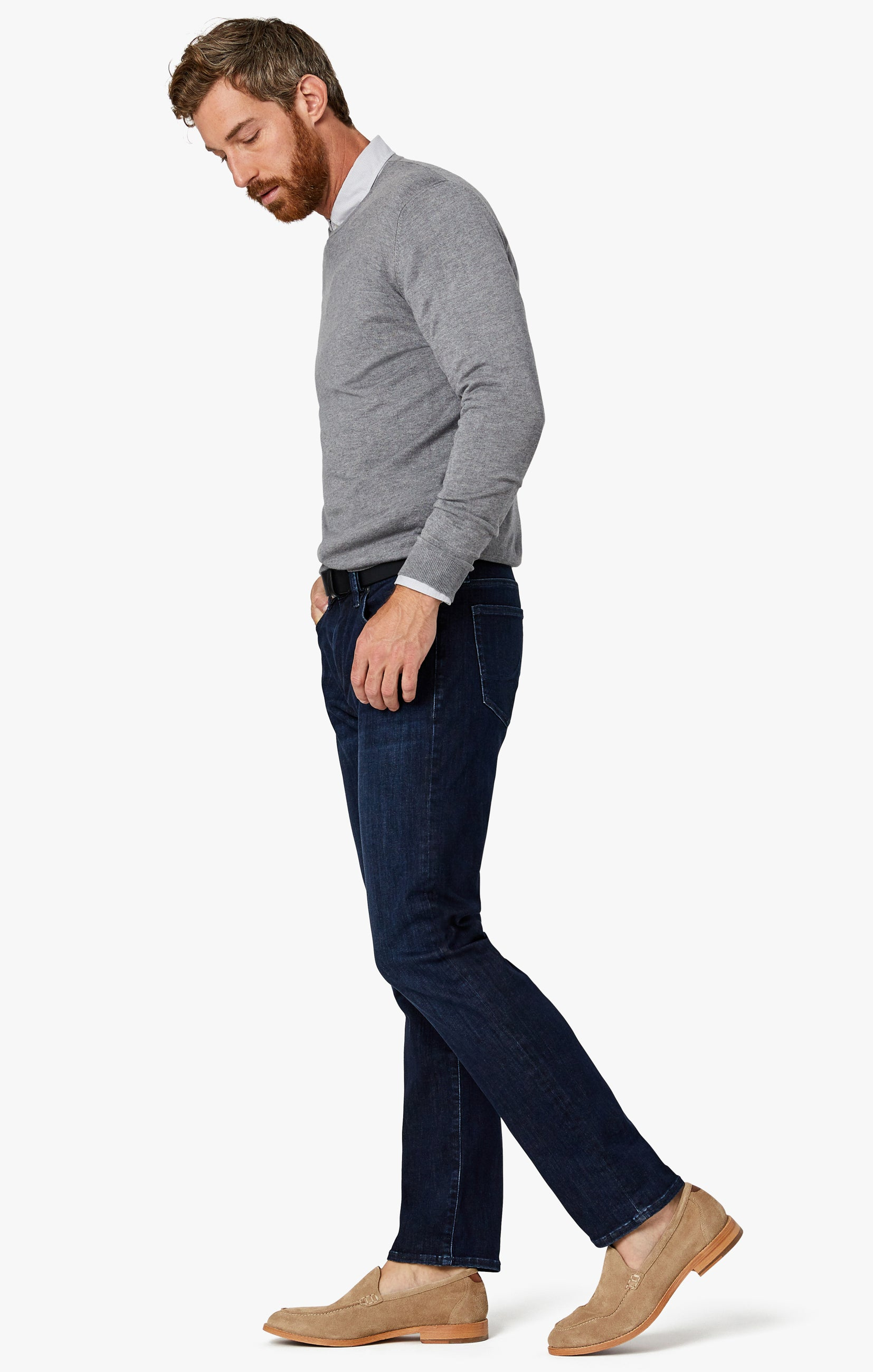 Charisma Relaxed Straight Jeans in Deep Urban Image 6