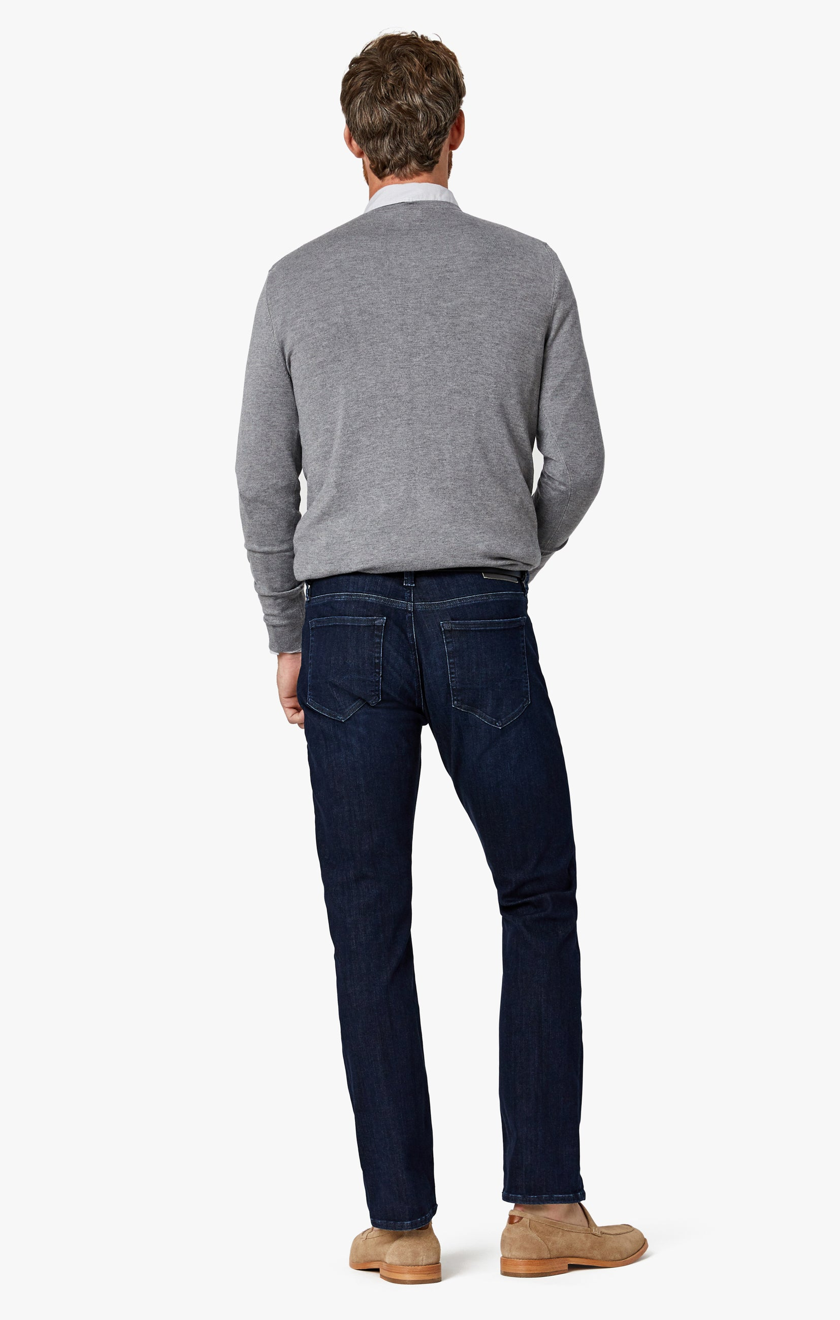 Charisma Relaxed Straight Jeans in Deep Urban Image 9