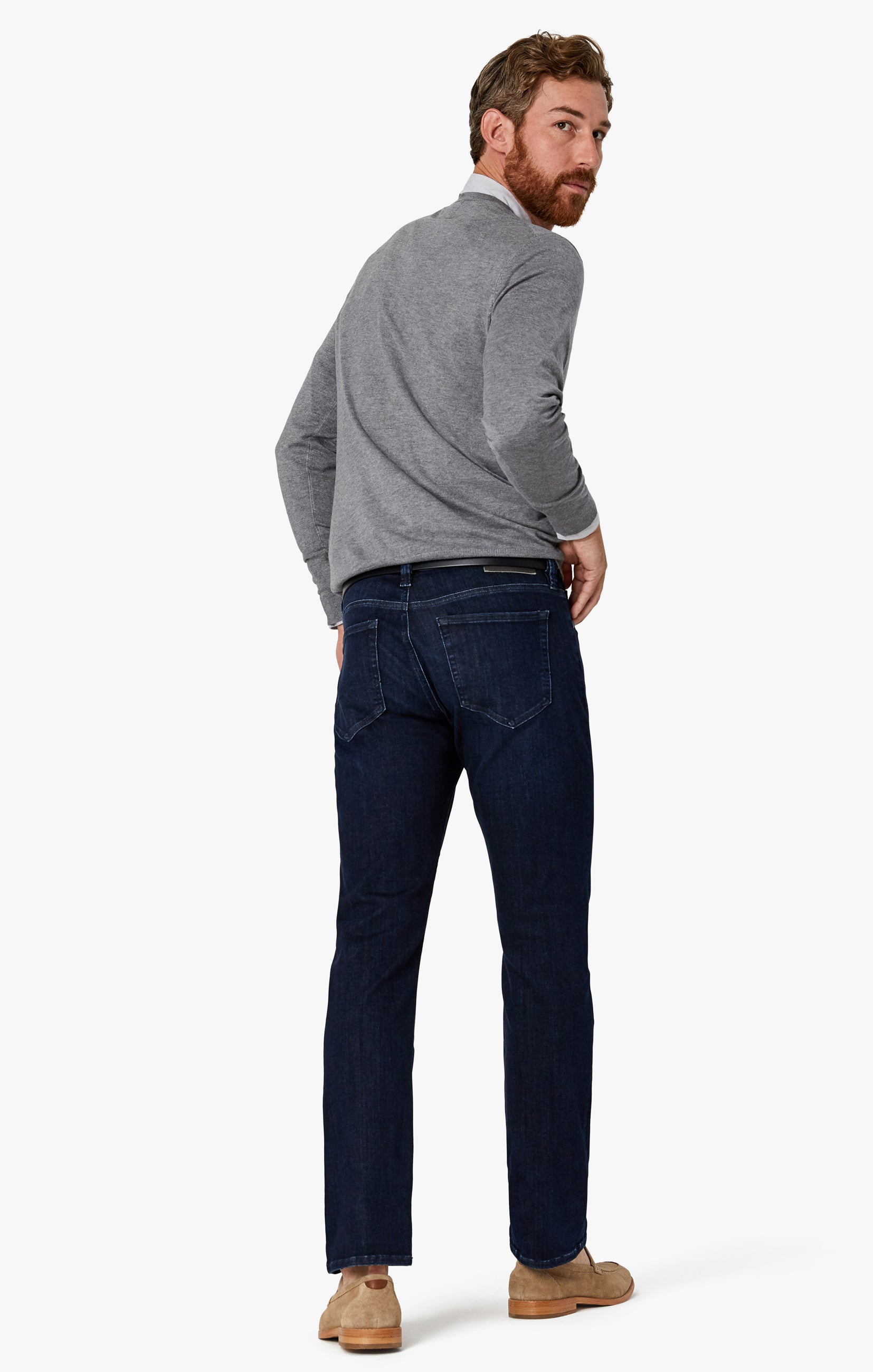 Charisma Relaxed Straight Jeans in Deep Urban Image 2
