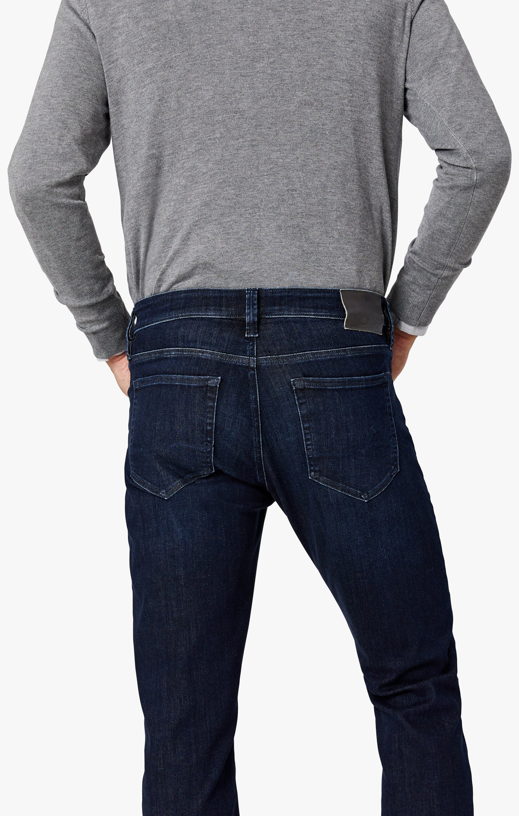 Charisma Relaxed Straight Jeans in Deep Urban Image 8