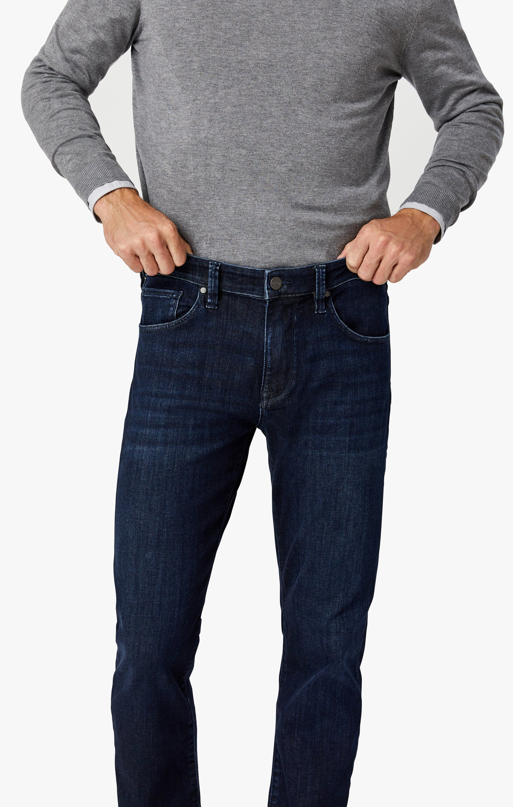 Charisma Relaxed Straight Jeans in Deep Urban Image 5