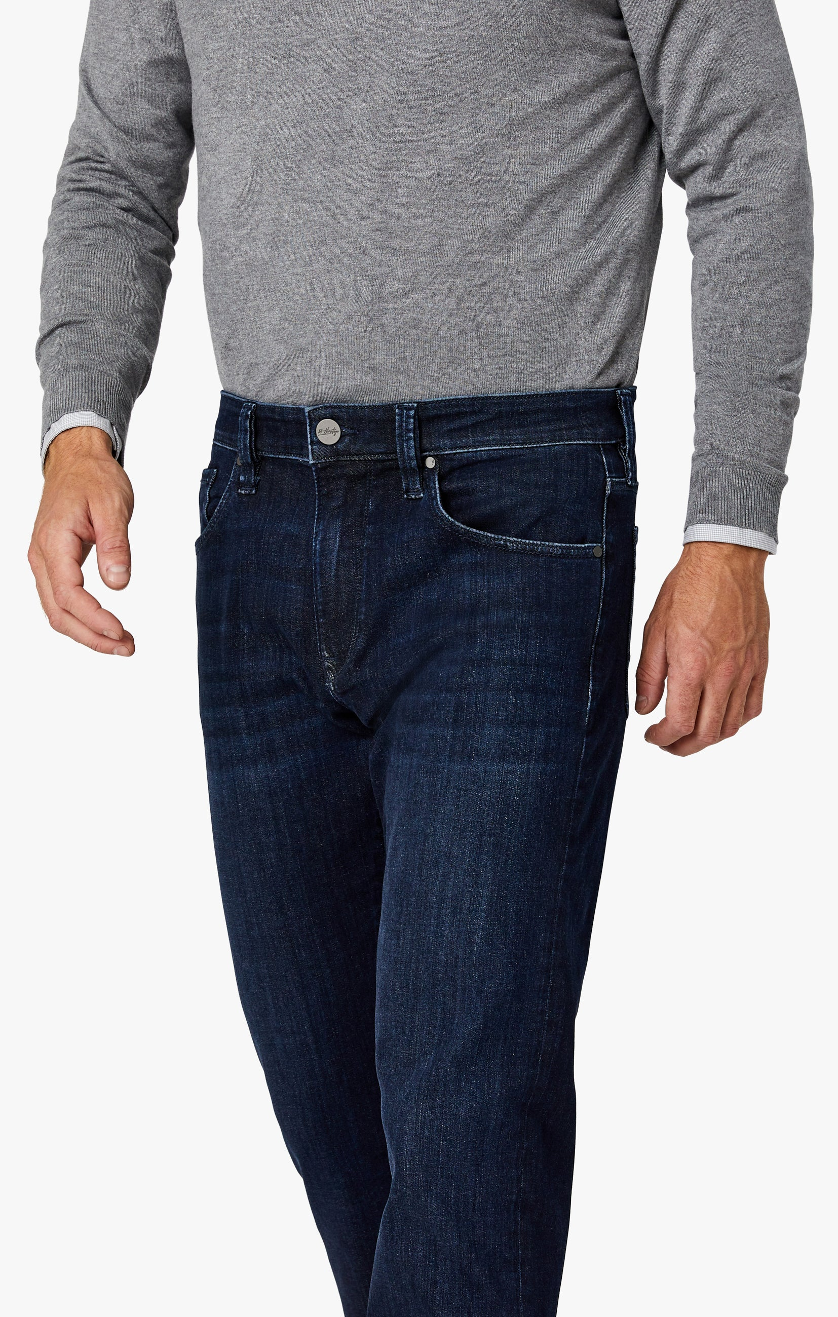 Charisma Relaxed Straight Jeans in Deep Urban Image 7