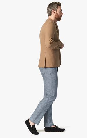 Charisma Relaxed Straight Pants in Grey Cross Twill