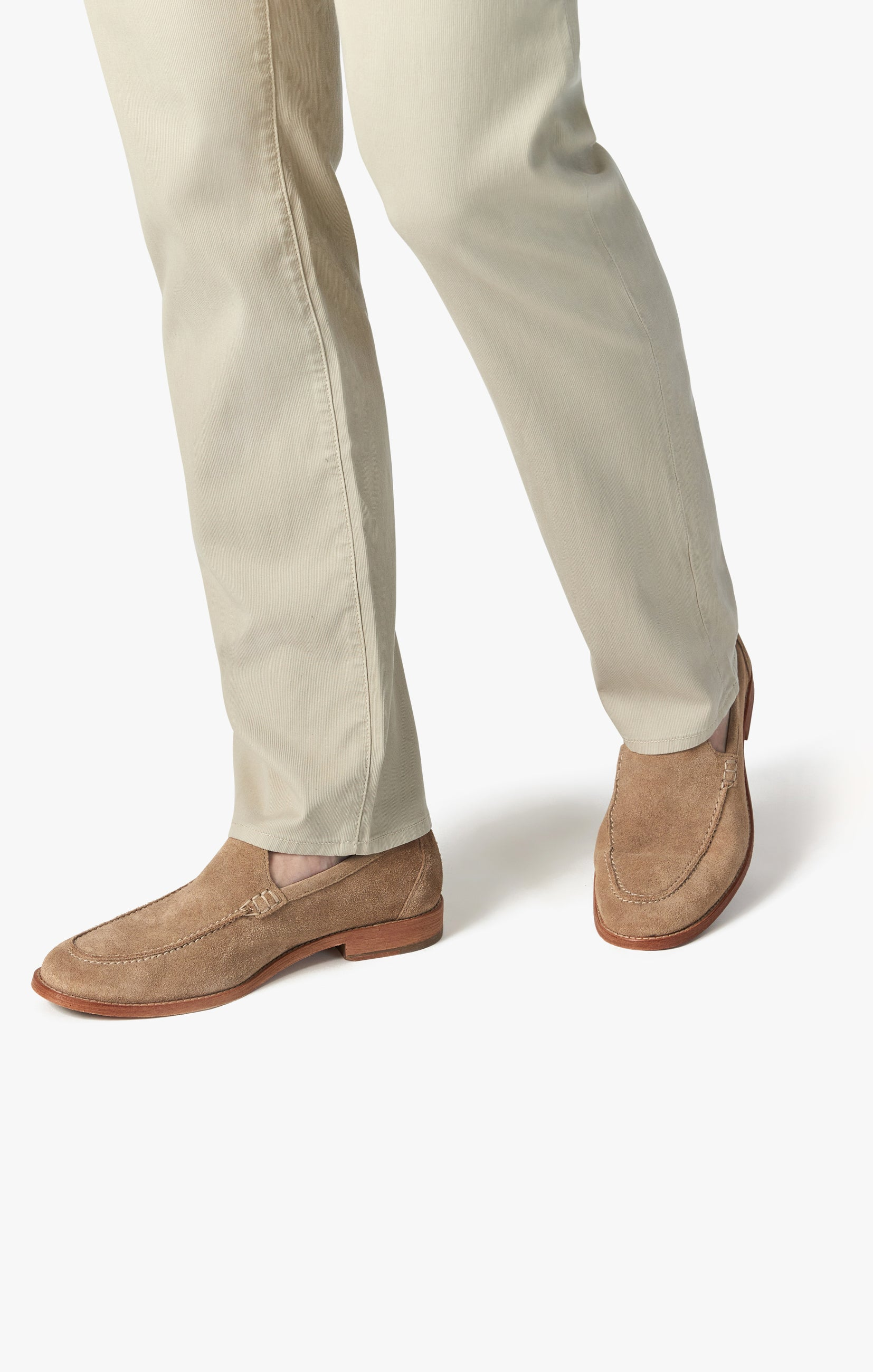 Charisma Relaxed Straight Pants in Stone Fine Touch Image 6