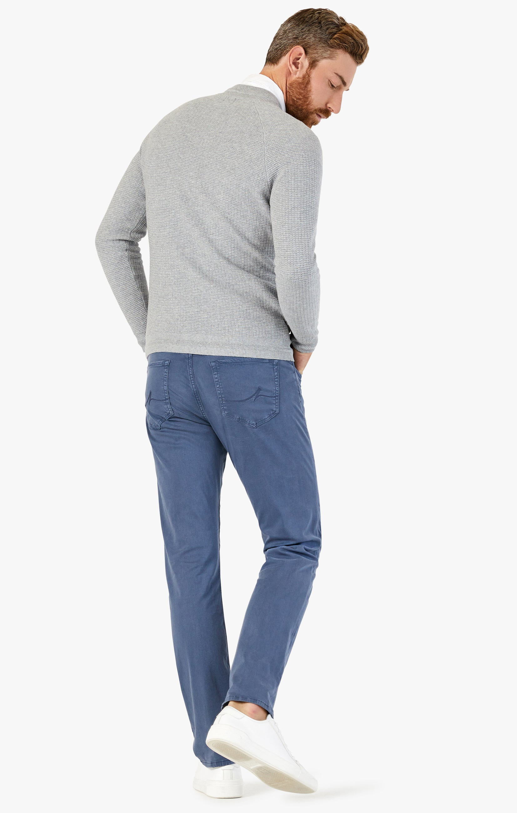 Charisma Relaxed Straight Pants In Vintage Indigo Twill Image 3