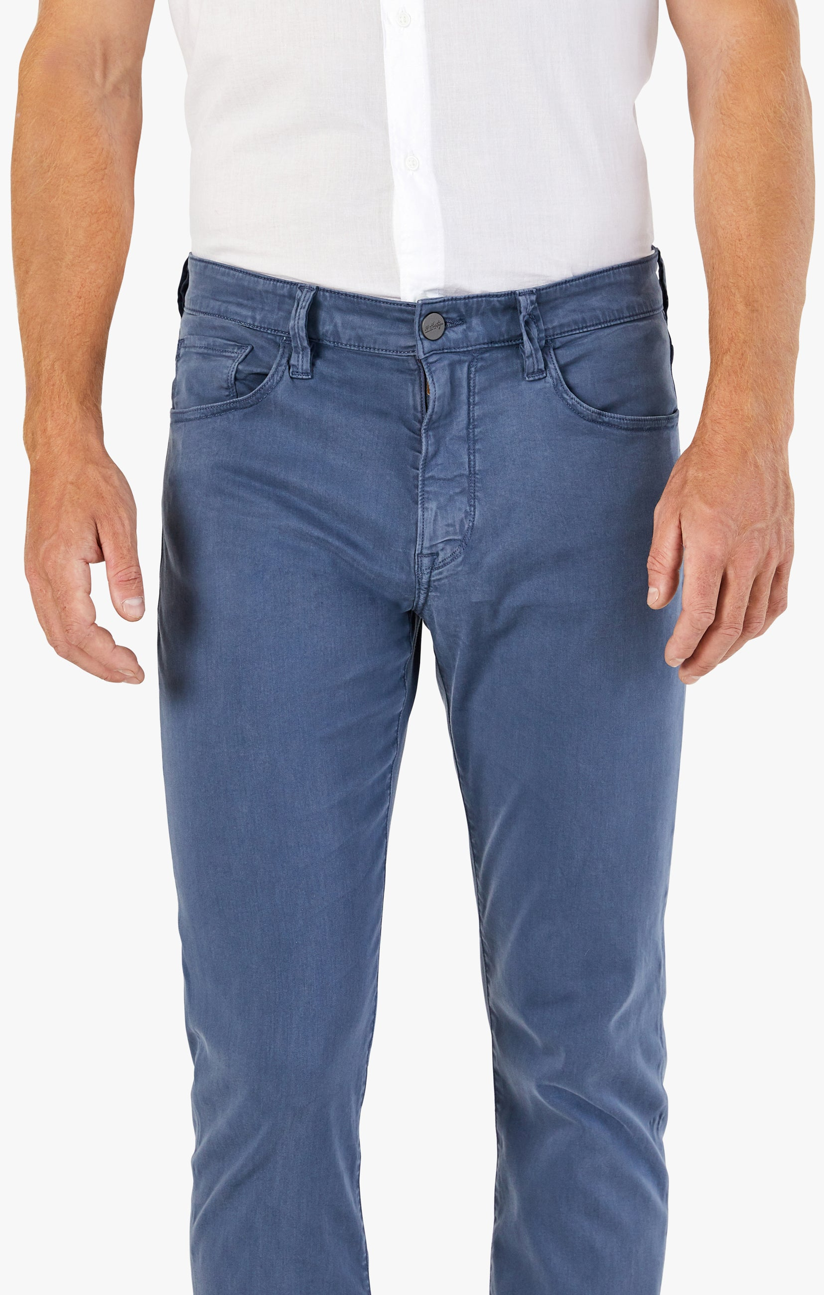 Charisma Relaxed Straight Pants In Vintage Indigo Twill Image 4