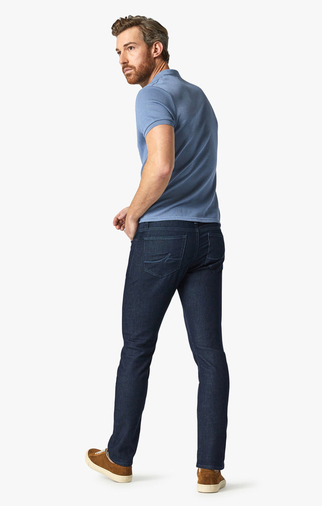 Charisma Relaxed Straight Jeans In Rinse Sporty