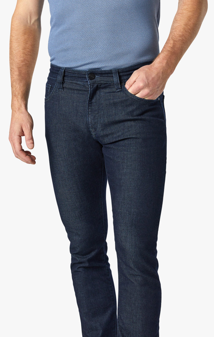Charisma Relaxed Straight Jeans In Rinse Sporty Image 4