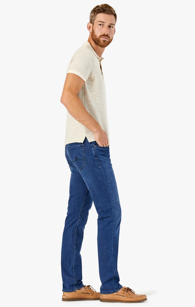 Charisma Relaxed Straight Jeans In Dark Indigo Ultra