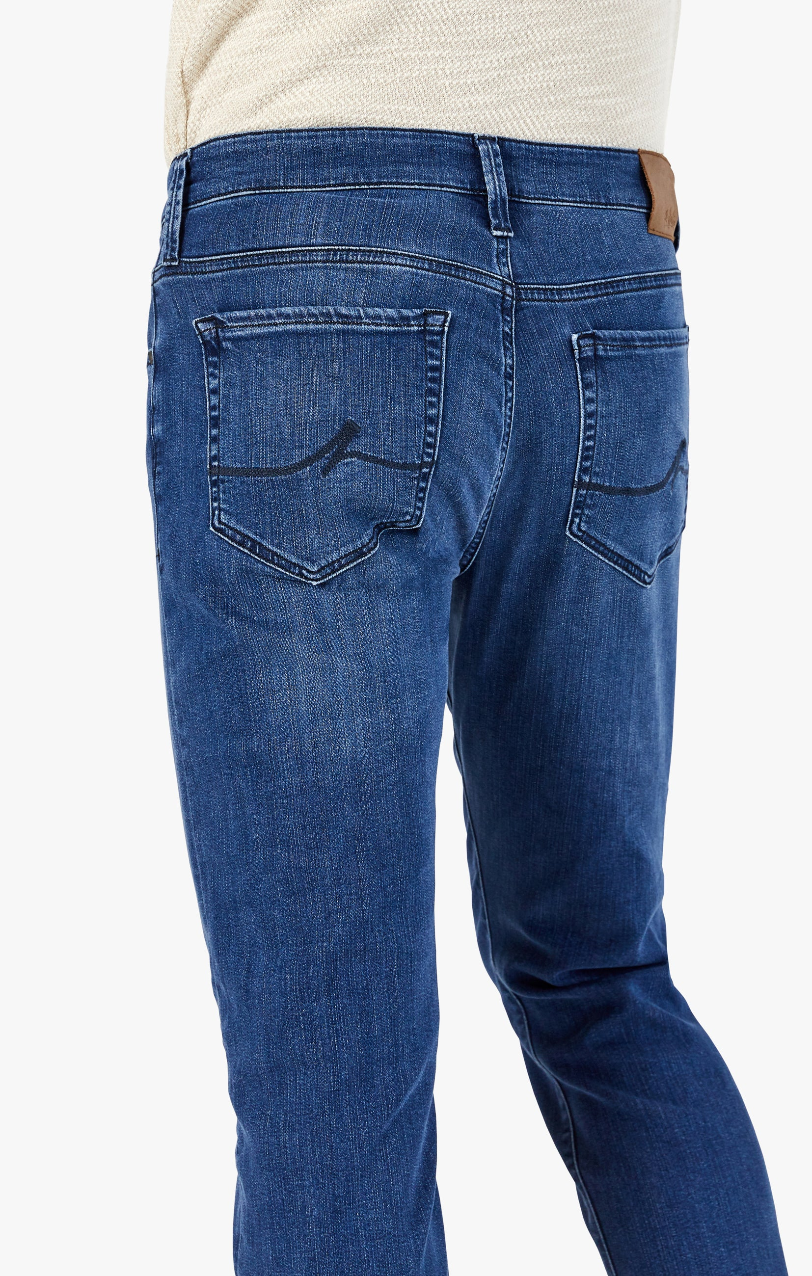 Charisma Relaxed Straight Jeans In Dark Indigo Ultra Image 4
