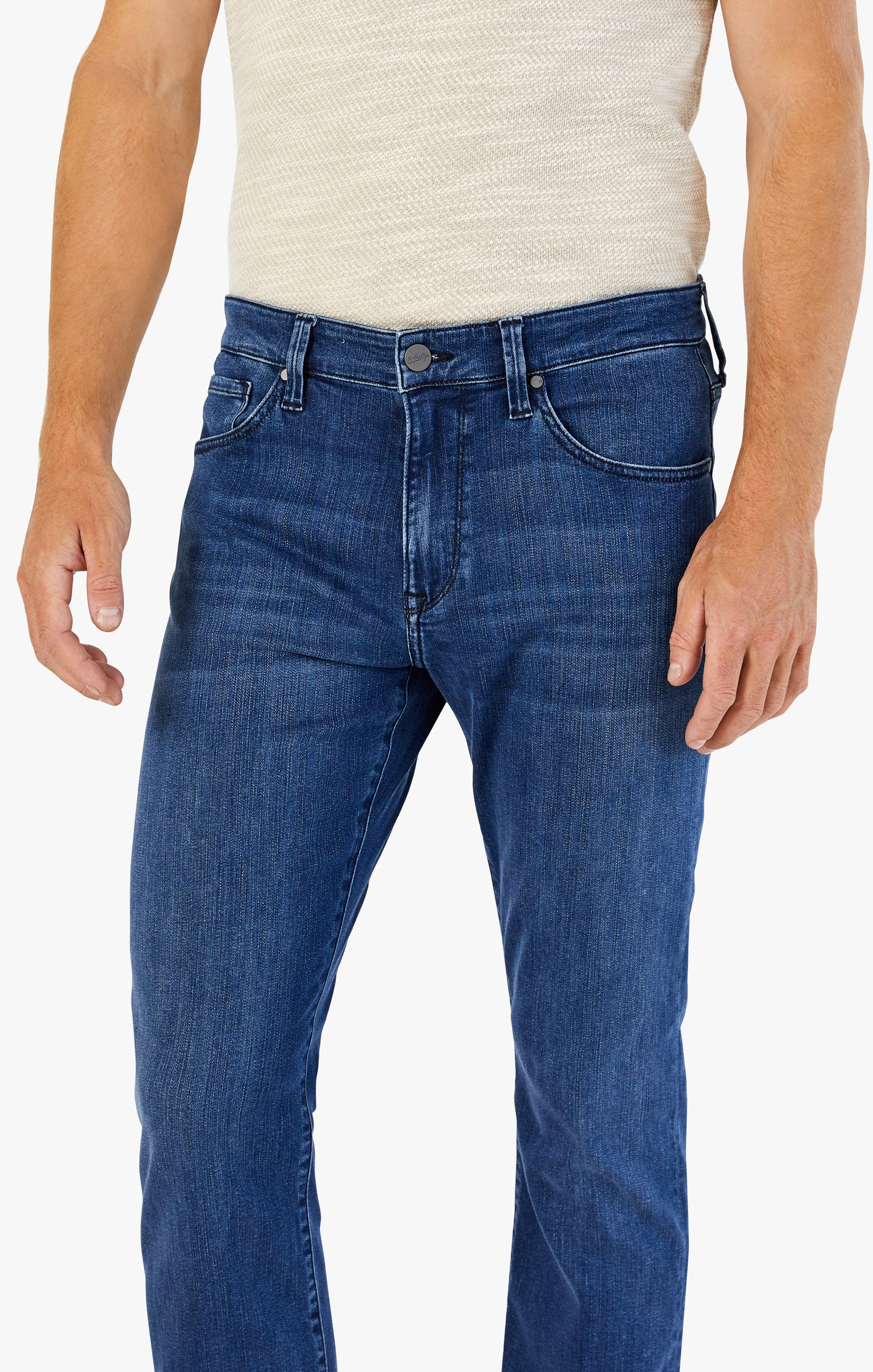 Charisma Relaxed Straight Jeans In Dark Indigo Ultra Image 5