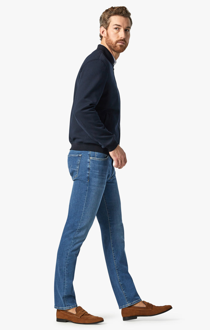 Charisma Relaxed Straight Jeans In Mid Soft Image 2