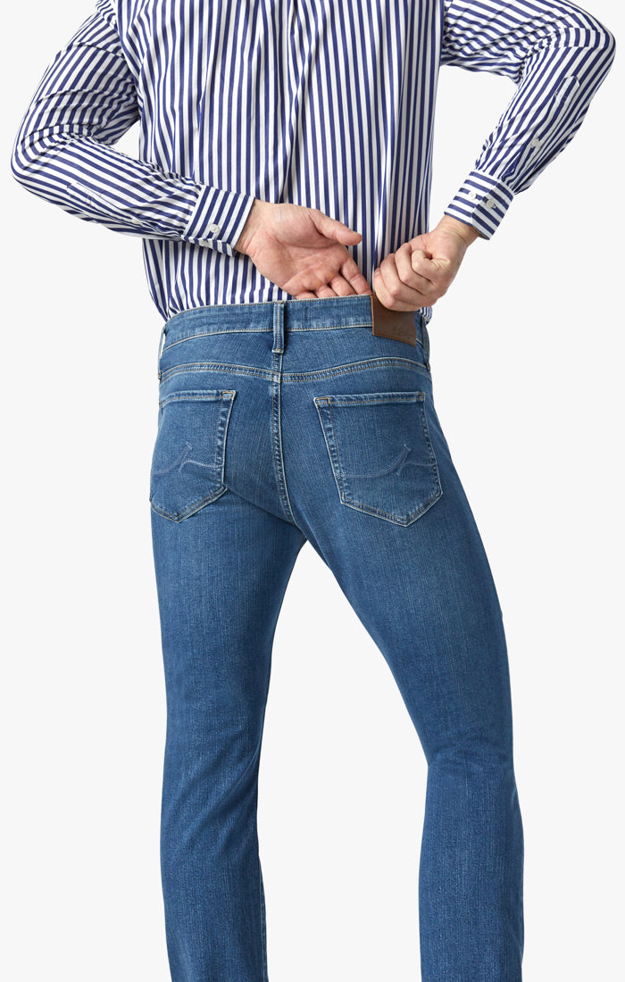 Charisma Relaxed Straight Jeans In Mid Soft Image 5