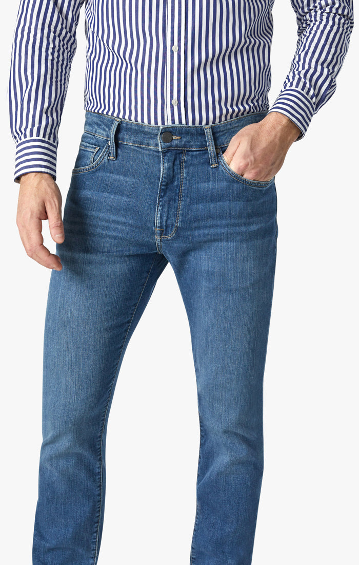 Charisma Relaxed Straight Jeans In Mid Soft Image 4