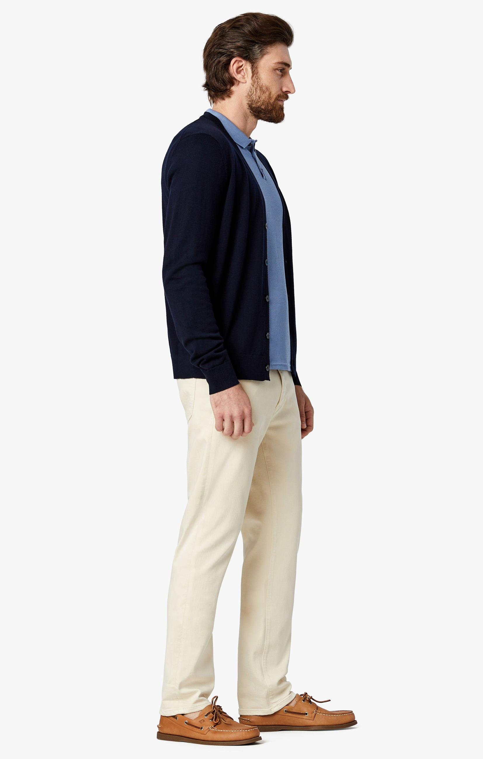 Courage Straight Leg Pants In Natural Comfort Image 2