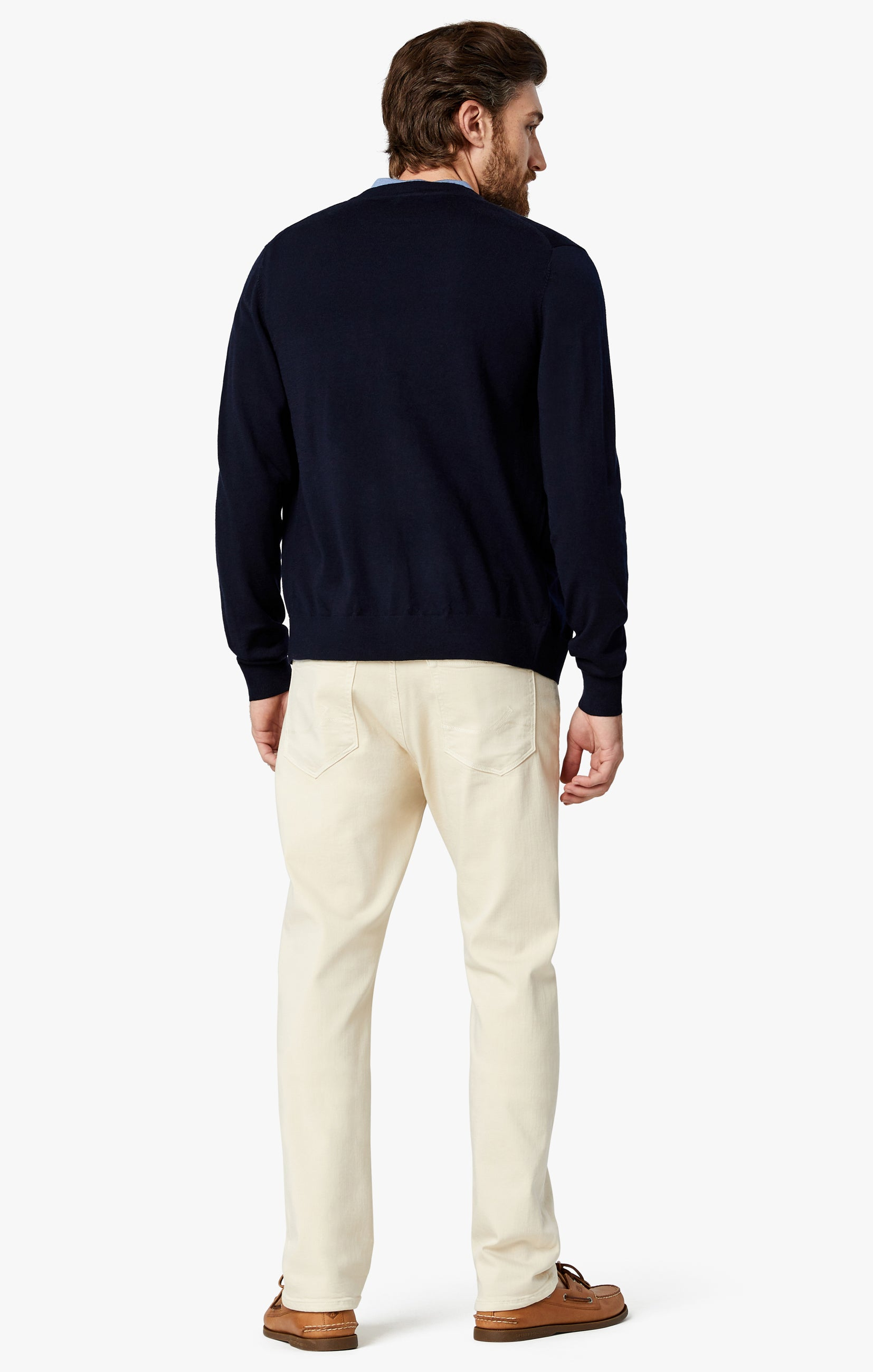 Courage Straight Leg Pants In Natural Comfort Image 3