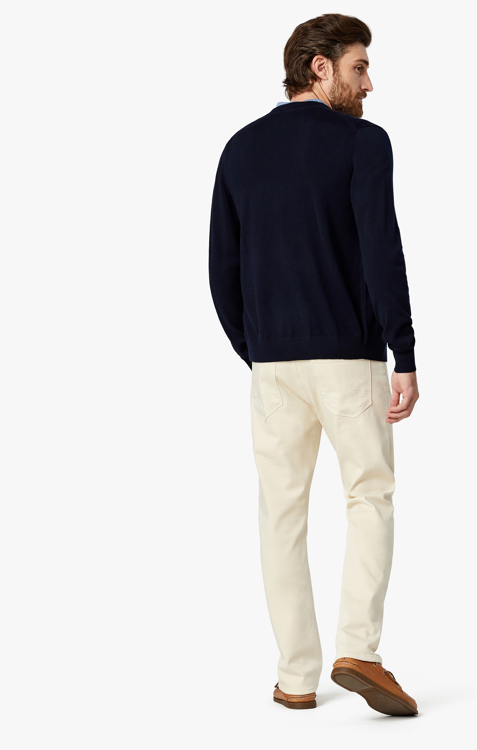 Courage Straight Leg Pants In Natural Comfort Image 4