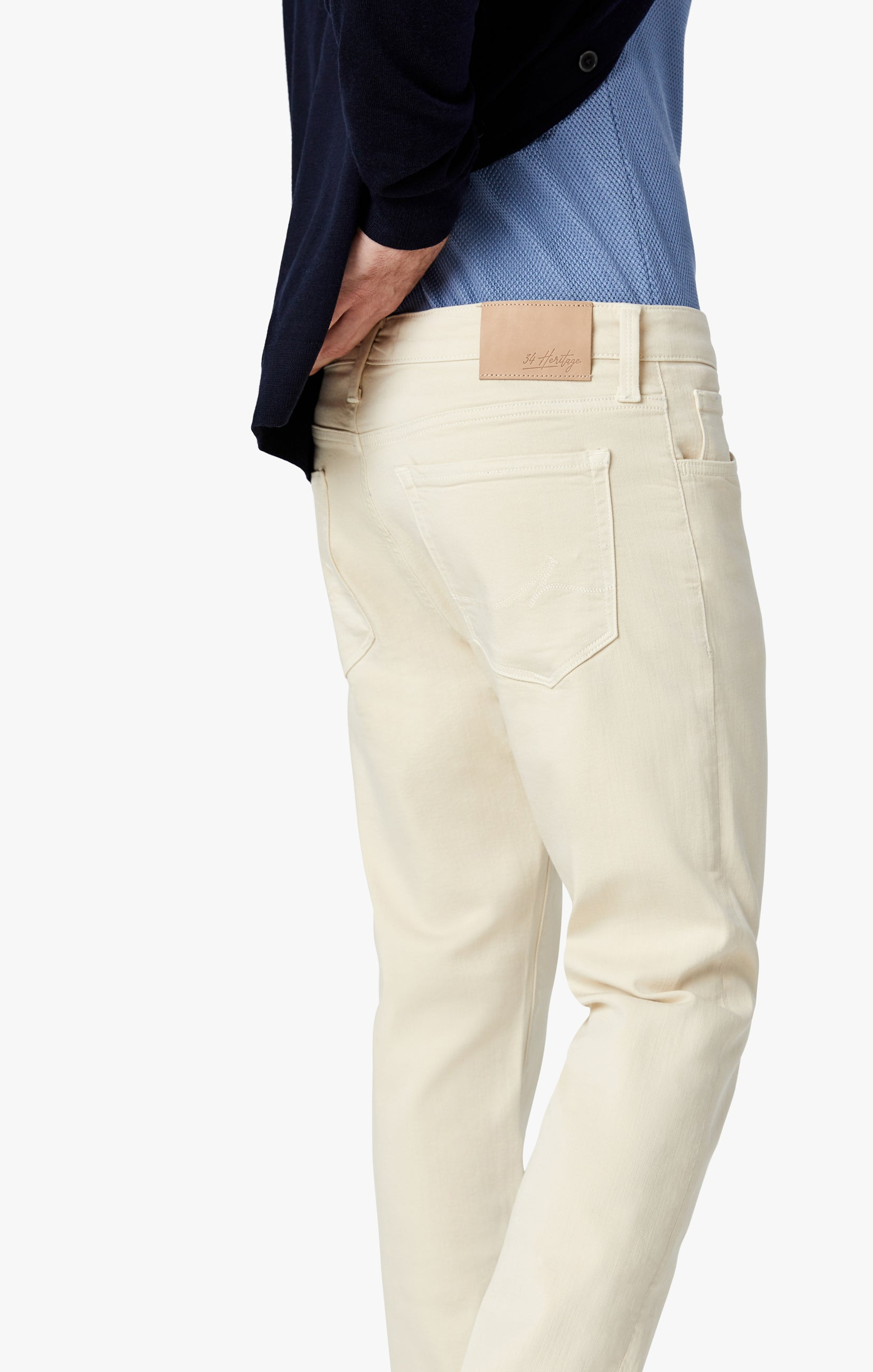 Courage Straight Leg Pants In Natural Comfort Image 5