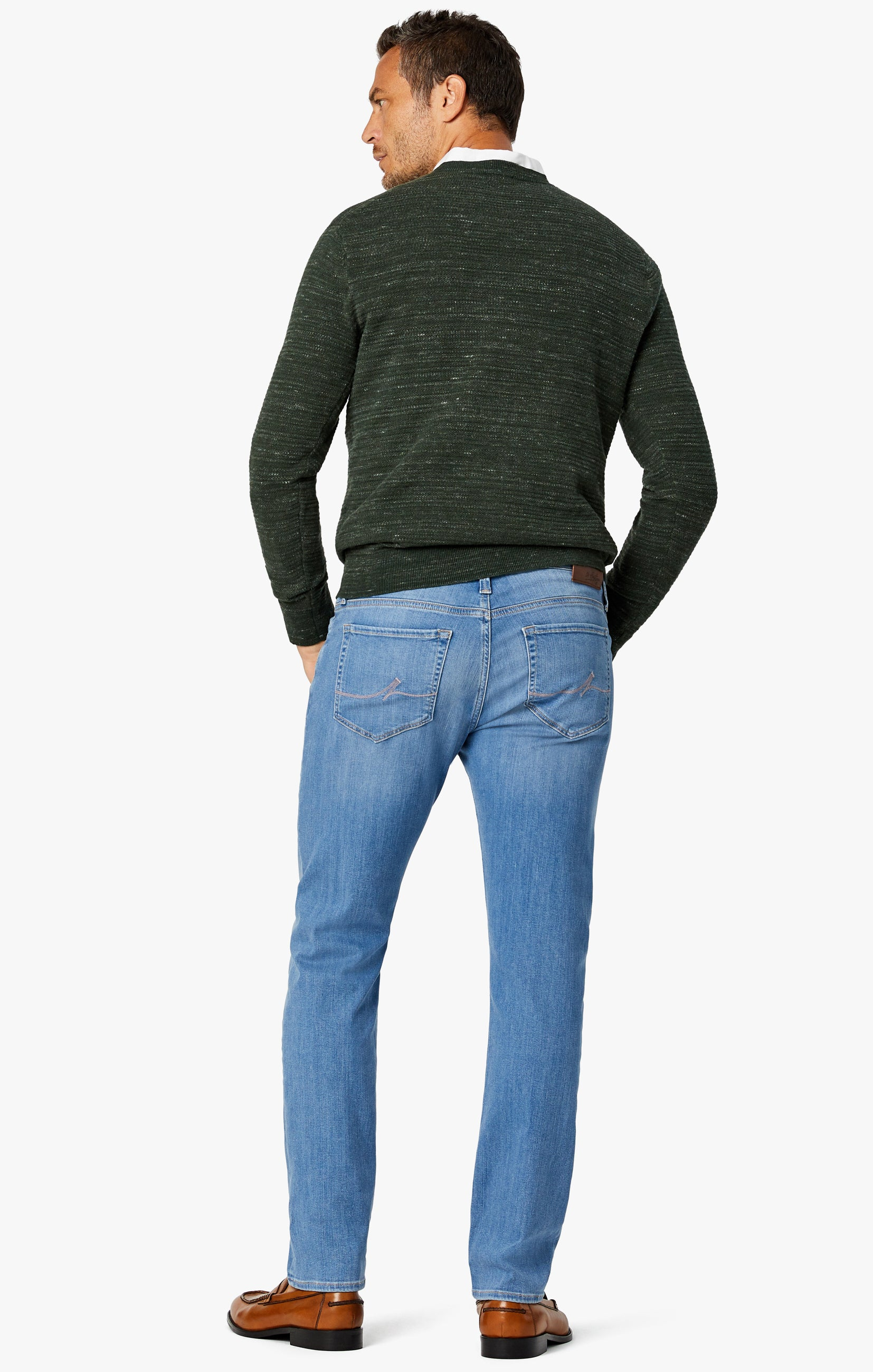 Charisma Relaxed Straight Jeans In Light Shaded Ultra Image 3