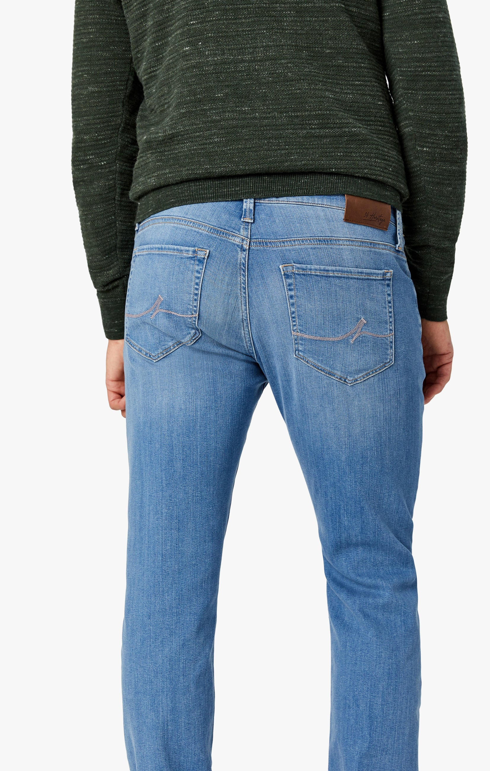 Charisma Relaxed Straight Jeans In Light Shaded Ultra Image 4