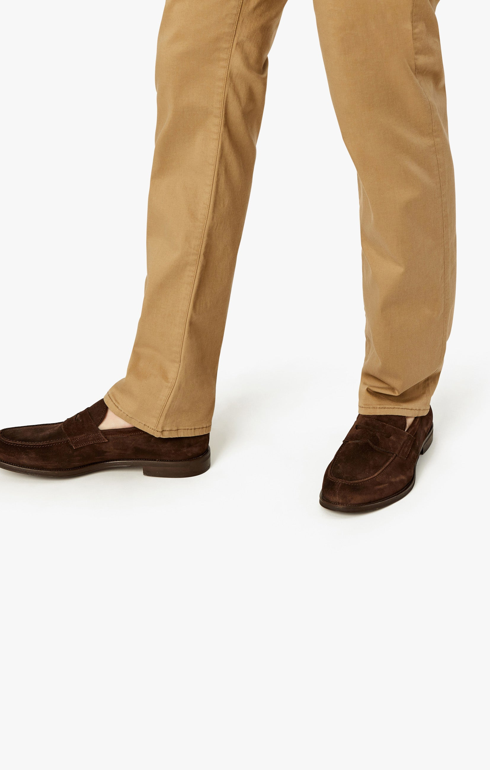 Courage Straight Leg Pants In Khaki Twill Image 9
