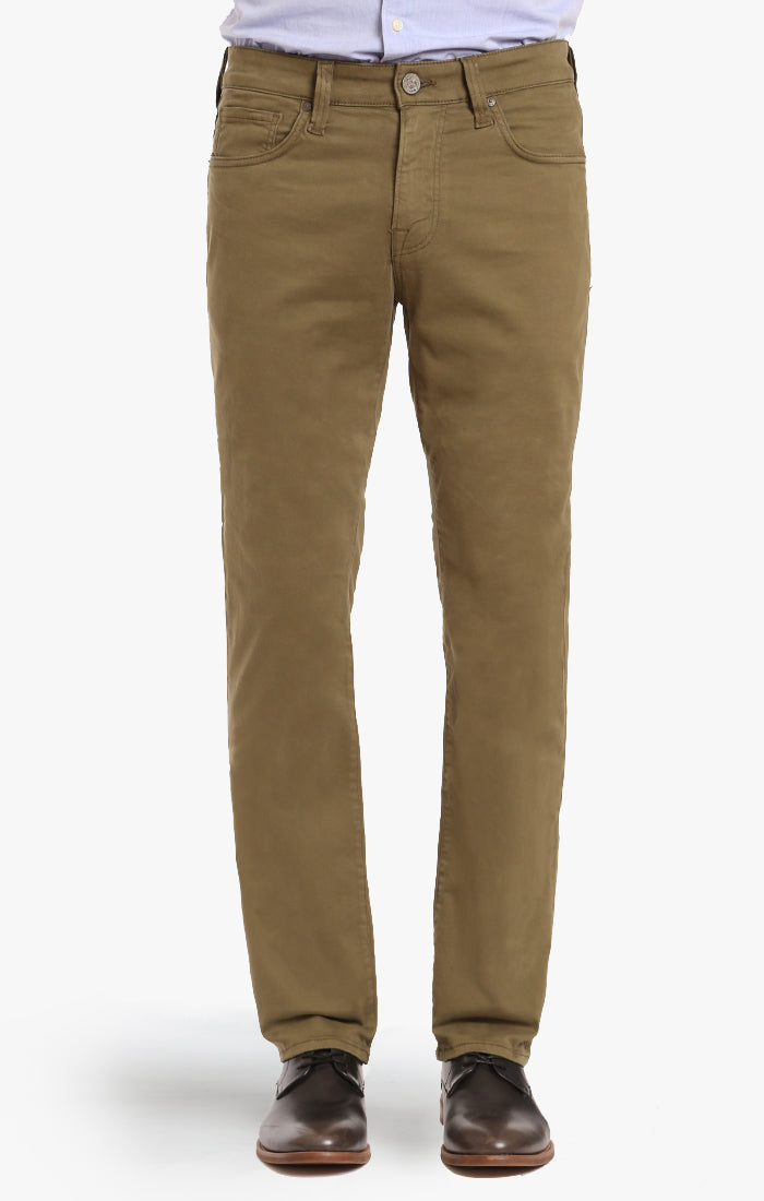 Courage Straight Leg In Olive Twill - 34 Heritage