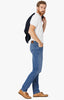 Courage Straight Leg Jeans In Light Indigo Sporty Thumbnail 1
