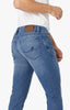 Courage Straight Leg Jeans In Light Indigo Sporty Thumbnail 6