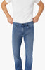 Courage Straight Leg Jeans In Light Indigo Sporty Thumbnail 7