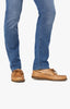 Courage Straight Leg Jeans In Light Indigo Sporty Thumbnail 8