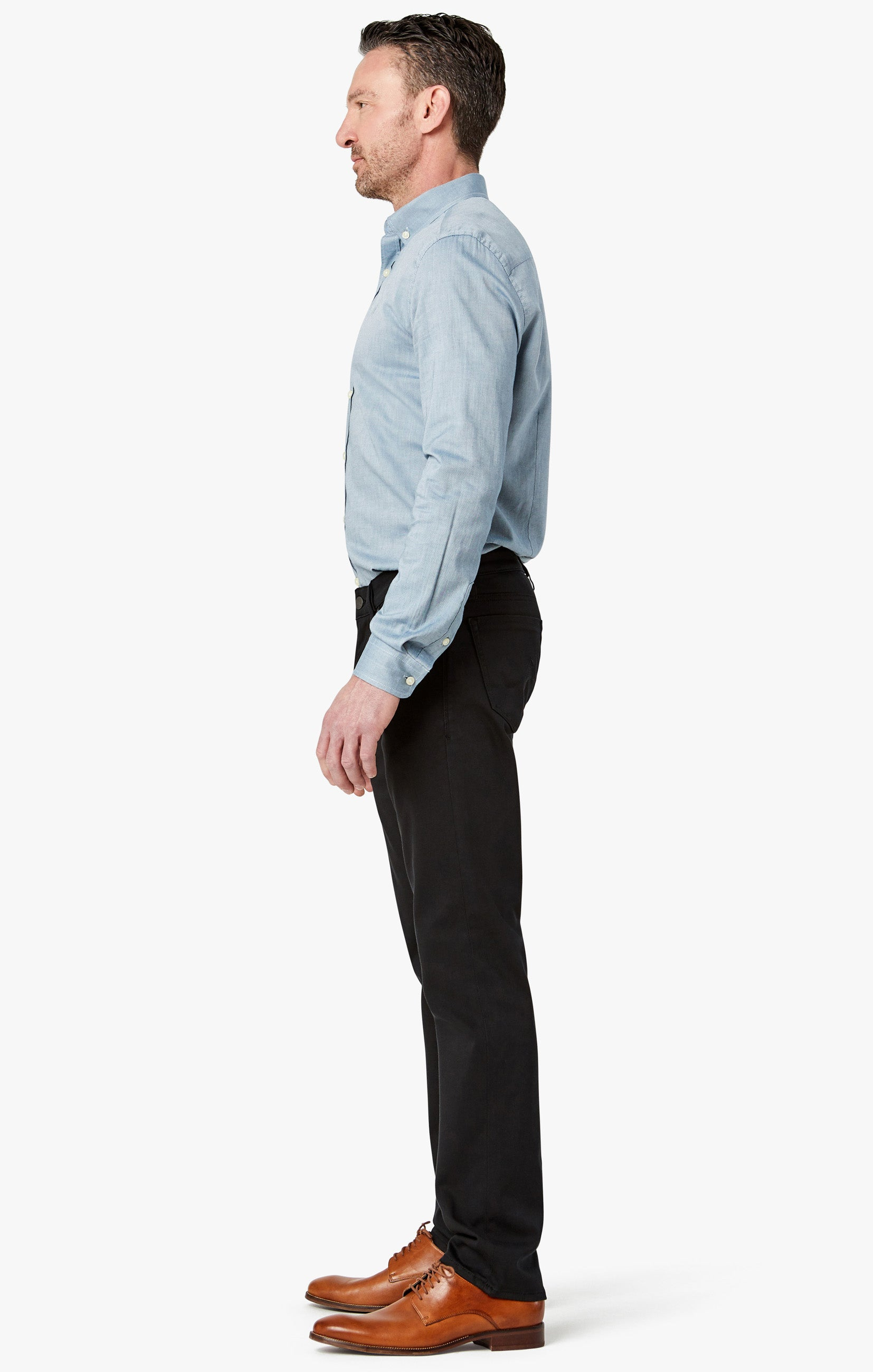 Courage Straight Leg Pants In Select Double Black Image 4