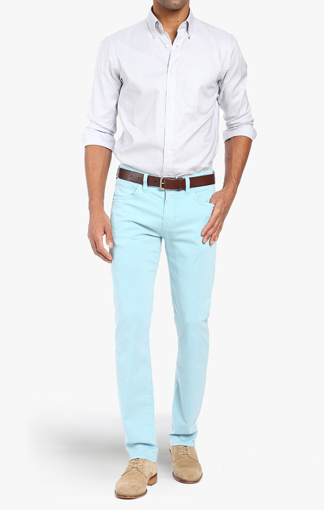 Courage Straight Leg In Mint Twill - 34 Heritage