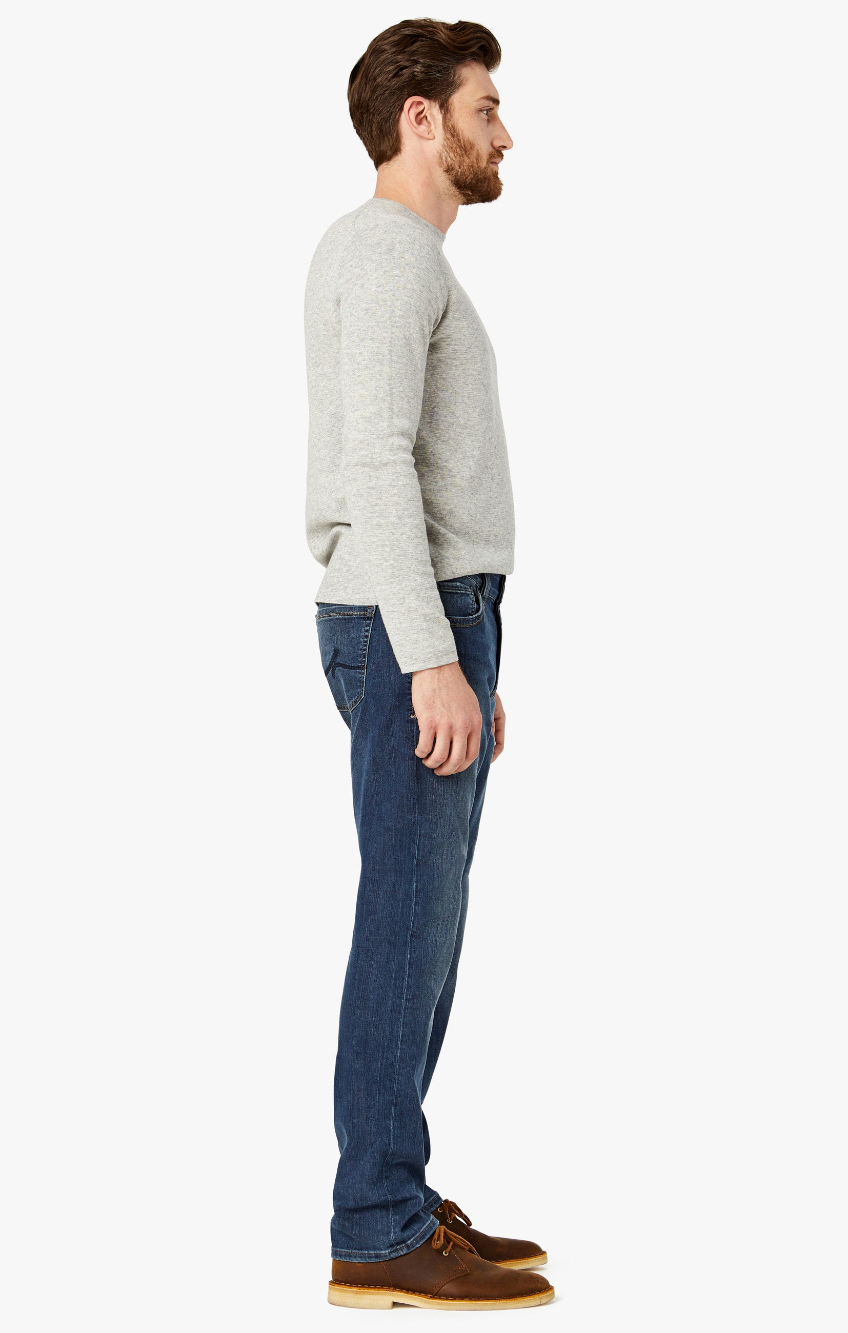 Courage Straight Leg Jeans In Mid Vintage Image 5