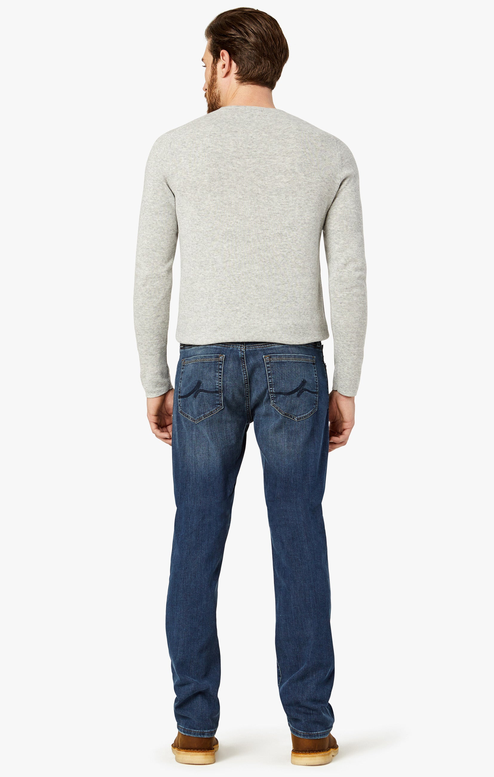 Courage Straight Leg Jeans In Mid Vintage Image 6